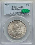 Bust Half Dollars: , 1832 50C Small Letters AU58 PCGS. CAC. PCGS Population: (417/410). NGC Census: (367/411). CDN: $500 Whsle. Bid for NGC/PCGS...
