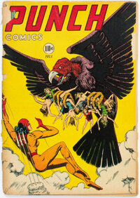 Punch Comics #20 (Chesler, 1947) Condition: FR