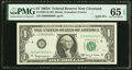 Small Size:Federal Reserve Notes, Fr. 1901-D $1 1963A Federal Reserve Note Solid Nine Serial Number. PMG Gem Uncirculated 65 EPQ. . ...