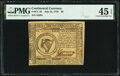 Colonial Notes:Continental Congress Issues, Continental Currency July 22, 1776 $8 PMG Choice Extremely Fine 45 EPQ.. ...