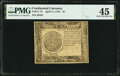 Colonial Notes:Continental Congress Issues, Continental Currency April 11, 1778 $7 PMG Choice Extremely Fine 45.. ...