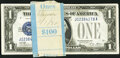 Fr. 1601 $1 1928A Silver Certificates. Nineteen Examples. Choice Crisp Uncirculated. ... (Total: 19 notes)