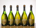 Dom Perignon Vintage Champagne 1962 5hscl, 3cuc, excellent color Bottle (5)