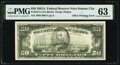 Offset Printing of Front to Back Error Fr. 2121-J $50 1981A Federal Reserve Note. PMG Choice Uncirculated 63