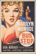 """Movie Posters:Drama, Bus Stop (20th Century Fox, 1956). Rolled, Fine/Very Fine. British Double Crown (20"""" X 30"""") Tom Chantrell Artwork. Drama.. ..."""