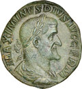 Ancients: Maximinus I (AD 235-238). AE sestertius (30mm, 21.76 gm, 12h). NGC MS 5/5 - 3/5, Fine Style