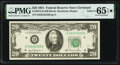 Solid Serial Number 22222222 Fr. 2073-D $20 1981 Federal Reserve Note. PMG Gem Uncirculated 65 EPQ★