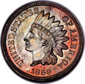 Patterns, 1859 1C Indian Cent, Judd-228, Pollock-272, Snow-PT4, R.1, MS65 NGC....