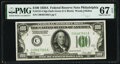 Small Size:Federal Reserve Notes, Fr. 2151-C $100 1928A Federal Reserve Note. PMG Superb Gem Unc 67 EPQ.. ...
