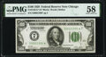 Small Size:Federal Reserve Notes, Fr. 2150-G* $100 1928 Federal Reserve Note. PMG Choice About Unc 58.. ...
