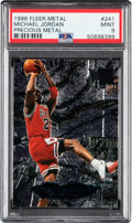 Basketball Cards:Singles (1980-Now), 1996 Fleer Metal Michael Jordan (Precious Metal) #241 PSA Mint 9. ...