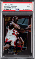 Basketball Cards:Singles (1980-Now), 1996 Ultra Michael Jordan (Court Masters) #2 PSA Mint 9. ...