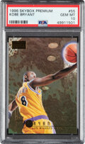 Basketball Cards:Singles (1980-Now), 1996 Skybox Premium Kobe Bryant #55 PSA Gem Mint 10. ...