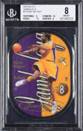 Basketball Cards:Singles (1980-Now), 2003 E-X Jambalaya Kobe Bryant #8 BGS NM-MT 8....