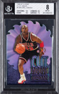 Basketball Cards:Singles (1980-Now), 1996 E-X2000 Michael Jordan (A Cut Above) #5 BGS NM-MT 8. ...