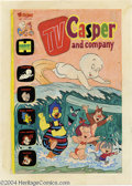Original Comic Art:Covers, Warren Kremer - TV Casper and Company #49 Cover Original Art(Harvey, 1974). Casper and the Harvey gang frolic in the surf o...(Total: 2 Original Art Item)