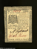 Colonial Notes:Pennsylvania, Pennsylvania April 25, 1776 1s Choice About Uncirculated. ...