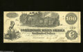Confederate Notes:1862 Issues, T39 $100 1862. The left-hand edge shows some handling on ...
