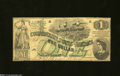 Confederate Notes:1862 Issues, T45 $1 1862. The edges show light handling on this Ace ...