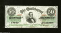 Confederate Notes:1863 Issues, T57 $50 1863. Choice Crisp Uncirculated. Serial number ...