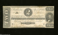 Confederate Notes:1863 Issues, T61 $2 1863. This 2nd Series $2 was printed on pink paper. ...