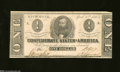Confederate Notes:1863 Issues, T62 $1 1863. There are no signs of circulation on this $1 ...