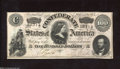 Confederate Notes:1864 Issues, T65 $100 1864. This Series 1 $100 has solid edges. Also, ...