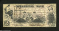 Obsoletes By State:Indiana, Terre Haute, IN- Commercial Bank $2 Aug. 3, 1858