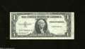 Error Notes:Third Printing on Reverse, Fr. 1614 $1 1935E Silver Certificate. Extremely Fine. This ...