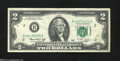 Error Notes:Mismatched Prefix Letters, Fr. 1935-H $2 1976 Federal Reserve Note. Very Fine. The ...