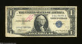 Error Notes:Foldovers, Fr. 1607 $1 1935 Silver Certificate. Fine. The lower left-...