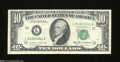Error Notes:Ink Smears, Fr. 2027-L $10 1985 Federal Reserve Note. Extremely Fine+. ...