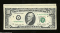 Error Notes:Major Errors, Fr. 2027-F $10 1985 Federal Reserve Notes. Seven Consecutive ... (7notes)