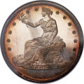 Patterns, Undated T$1 (1876) Trade Dollar, Judd-1475a, Pollock-1627, High R.7, PR66 Cameo NGC....