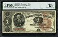 Fr. 347 $1 1890 Treasury Note PMG Choice Extremely Fine 45