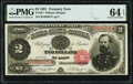 Large Size:Treasury Notes, Fr. 357 $2 1891 Treasury Note PMG Choice Uncirculated 64 EPQ.. ...