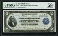 Fr. 777 $2 1918 Federal Reserve Bank Note PMG Choice About Unc 58 EPQ