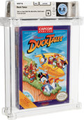 Video Games:Nintendo, Duck Tales - Wata 9.0 B Sealed [with Offer], NES Capcom 1989 USA. ...