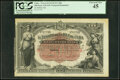 World Currency, Cuba El Tesoro De La Isla De Cuba 200 Pesos 12.8.1891 Pick 44b Remainder PCGS Currency Extremely Fine 45.. ...