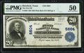 National Bank Notes:Texas, Hereford, TX - $20 1902 Plain Back Fr. 659 The Hereford National Bank Ch. # 5604 PMG About Uncirculated 50.. ...