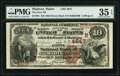 National Bank Notes:Maine, Madison, ME - $10 1882 Brown Back Fr. 485 The First National Bank Ch. # (N)4647 PMG Choice Very Fine 35 EPQ.. ...
