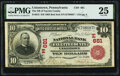 National Bank Notes:Pennsylvania, Uniontown, PA - $10 1902 Red Seal Fr. 613 National Bank of Fayette County Ch. # (E)681 PMG Very Fine 25.. ...