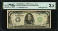 Gutter Fold Error Fr. 2212-J $1,000 1934A Federal Reserve Note. PMG Very Fine 25