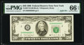 Solid Serial Number 88888888 Fr. 2077-B $20 1990 Federal Reserve Note. PMG Gem Uncirculated 66 EPQ