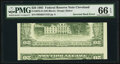 Inverted Back Type II Error Fr. 2075-D $20 1985 Federal Reserve Note. PMG Gem Uncirculated 66 EPQ