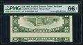 Inverted Back Type II Error Fr. 2027-D $10 1985 Federal Reserve Note. PMG Gem Uncirculated 66 EPQ