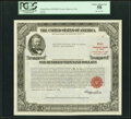 Serial Number 9 $100,000 United States Treasury Bond Dec. 15, 1954 PCGS Choice About New 58