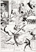 Original Comic Art, David Mazzucchelli Daredevil #233 Story Page 8 Original Art (Marvel, 1986)....