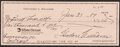 Autographs:Checks, 1989 Ted Williams Signed Check....