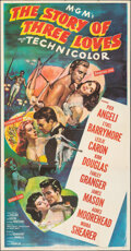 "The Story of Three Loves (MGM, 1953). Folded, Very Fine-. Three Sheet (41"" X 79""). Romance"